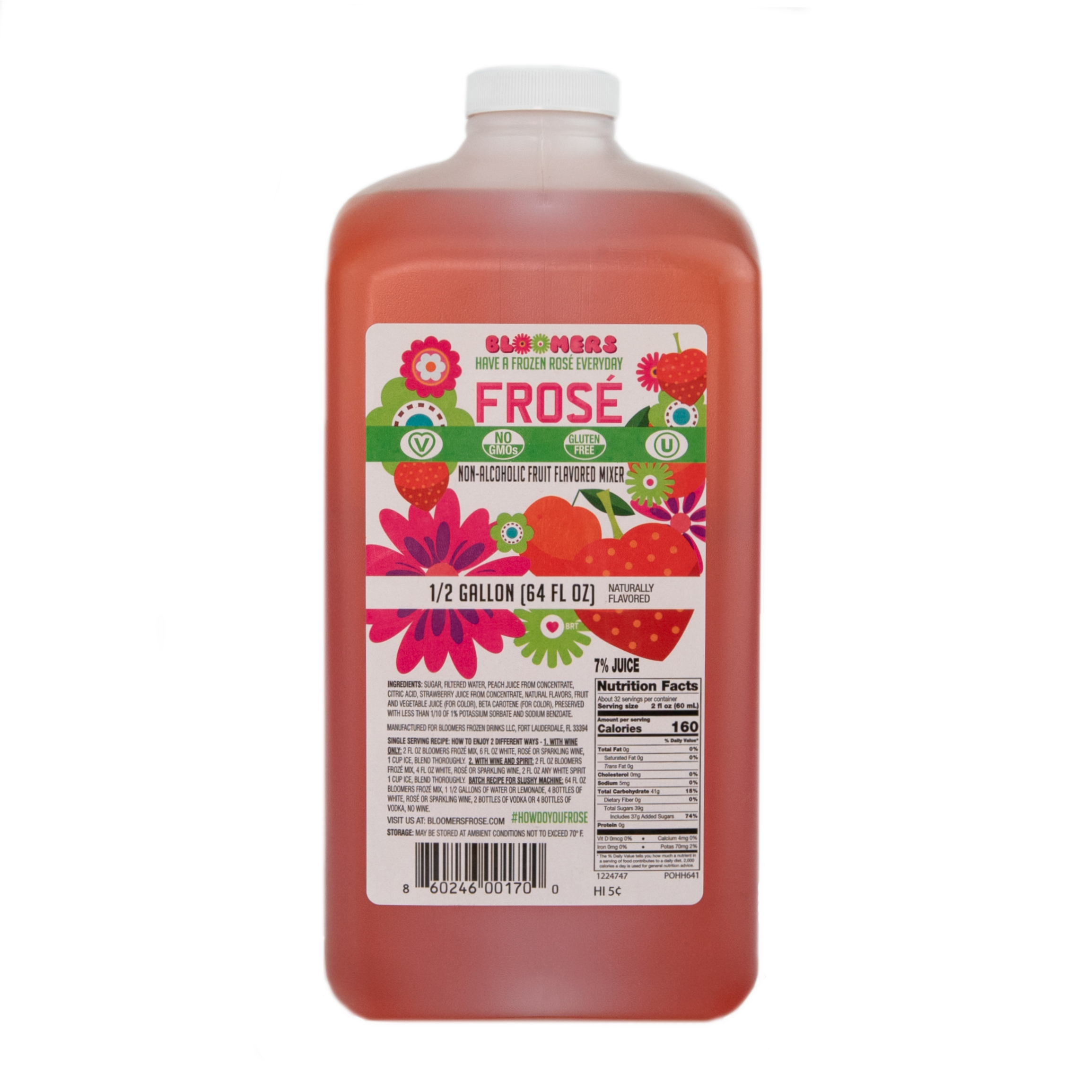 Bloomer's Frosé - 64oz  (Case)