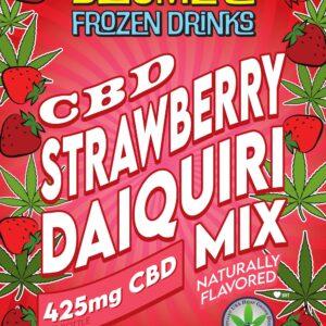 CBD Strawberry Daiquiri Mix